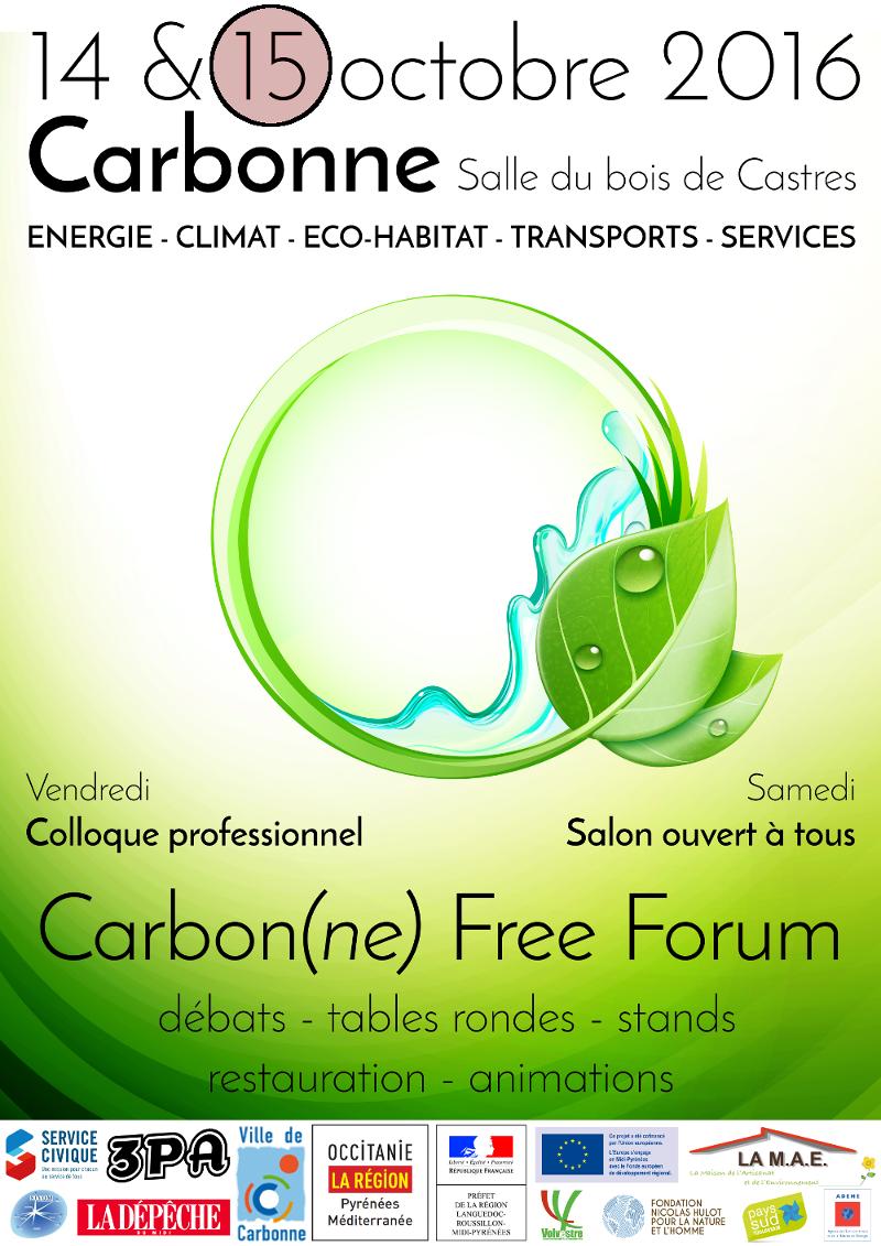 Affiche Free Forum Carbonne